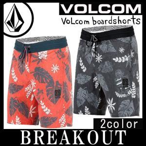即出荷 VOLCOM/ボルコム メンズ サーフパンツ ボードショーツ 海パン 水着 Monsta Bud Stoney A0821708 19インチ サーフィン メール便対応|breakout