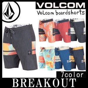 即出荷 VOLCOM/ボルコム メンズ サーフパンツ 海パン 水着 3Quarta Slinger A0811613 20インチ サーフィン メール便対応|breakout