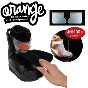 ORANGE / オレンジ BOOTS DRY SOCKS ブーツ インナーソックス スノーボード メール便対応|breakout