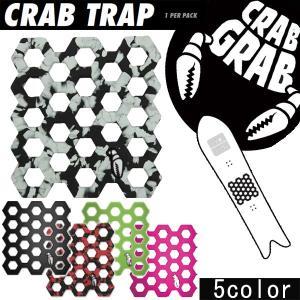 CRABGRAB / クラブグラブ CRAB TRAP デッキパッド 滑り止め スノーボード パット  メール便対応|breakout