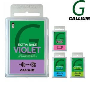即出荷 GALLIUM / ガリウム EXTRA BASE WAX 100g エクストラ ベース ワックス スノーボード メール便対応|breakout