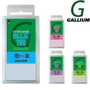 即出荷 GALLIUM / ガリウム EXTRA BASE WAX 200g エクストラ ベース ワックス スノーボード メール便対応|breakout