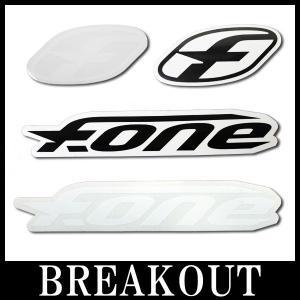 F-ONE エフワン ステッカー パドルボード カイトボード サーフィン メール便対応 SUP サップ|breakout