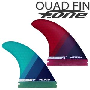 FONE / エフワン / クアッドフィン 4枚組 フューチャー パドルボード パドルサーフィン SUP メール便対応 サップ|breakout