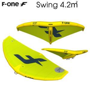F-ONE エフワン SWING 4.2平米 エスウイング サーフウイング カイトウイング ウイングサーフィン WINGSURF 2019 予約商品|breakout