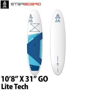 取り寄せ商品 2019 STARBOARD SUP 10'8X31 GO LITE TECH スターボード  ゴー サップ スタンドアップパドルボード 営業所止め|breakout