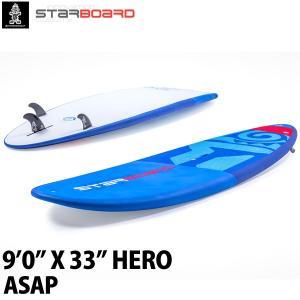取り寄せ商品 2019 STARBOARD SUP 9'0X33 HERO ASAP スターボード ヒーロー サップ スタンドアップパドルボード 営業所止め|breakout
