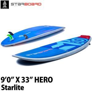 取り寄せ商品 2019 STARBOARD SUP 9'0X33 HERO STARLITE スターボード ヒーロー サップ スタンドアップパドルボード 営業所止め|breakout