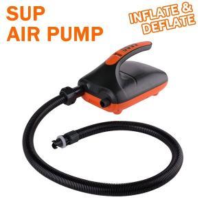 SUPサップ ゴムボート 電動ポンプ デフレート機能付き HT-782 マルチポンプ エアーポンプ 空気入れ インフレータブル パドルボード|breakout