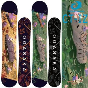 19-20 OGASAKA / オガサカ CT-IZL リミテッド メンズ レディース 板 スノーボード 予約商品 2020|breakout