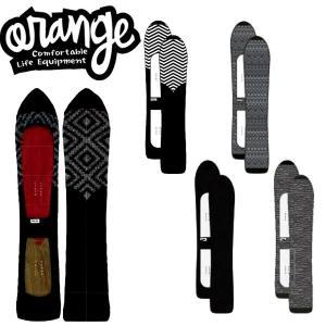 ORANGE / オレンジ KNIT COVER LONG NOSE パウダーボードニットカバー スノーボードケース ソールカバー ソールガード 国産|breakout