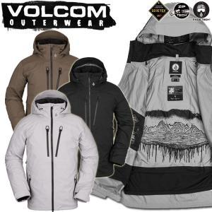 19-20 VOLCOM/ボルコム GUCHI STRETCH GORE-TEX jacket メンズ スノーウェア ゴアテックス ジャケット スノーボードウェア 予約商品 2020|breakout