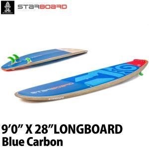 取り寄せ商品 2019 STARBOARD SUP 9'0X28 LONGBOARD BLUE CARBON スターボード ロングボード サップ スタンドアップパドルボード 営業所止め|breakout
