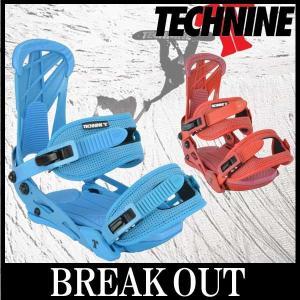 15-16 TECHNINE/テックナイン STANDARD メンズ ビンディング バインディング スノーボード 2016 型落ち|breakout