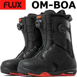 18-19 FLUX/フラックス OM-BOA オーエムボア メンズ レディース ブーツ ボア スノーボード 2019 型落ち|breakout