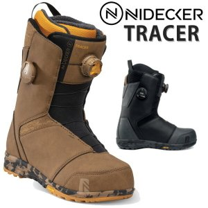 18-19 NIDECKER ナイデッカー ニデッカー TRACER トレーサー BOA ボア メンズ ブーツ スノーボード 2019 型落ち|breakout