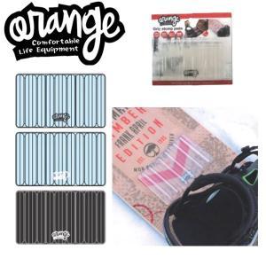 ORANGE / オレンジ デッキパッド Grip stomp pad 滑り止め スノーボード パット 板 メール便対応|breakout