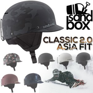 即出荷 SANDBOX/サンドボックスヘルメット CLASSIC 2.0 ASIA FIT アジアンフィット スノーボード スケート スキー メンズ レディース キッズ 17-18 プロテクター|breakout