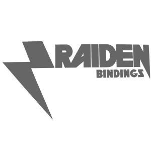 RAIDEN / レイデン DIECUT SILVER ステッカー ダイカット スノーボード メール便対応|breakout