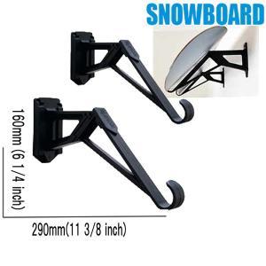 即出荷 スノーボードラック RACK IT UP スノーボード&スキー専用の壁掛けラック|breakout