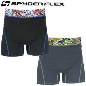SPYDER FLEX S/F インナーパンツ/スパイダーフレックス インナーショーツ サーフィン サップ SUP メール便対応|breakout