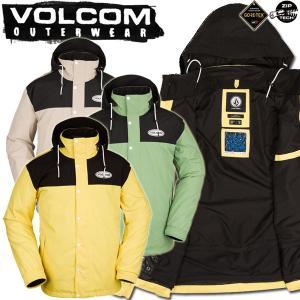 19-20 VOLCOM/ボルコム RESIN GORE-TEX jacket メンズ スノーウェア ゴアテックス ジャケット スノーボードウェア 予約商品 2020|breakout