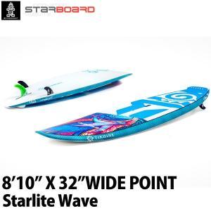 取り寄せ商品 2019 STARBOARD SUP 8'10X32 WIDE POINT STARLITE WAVE スターボード ワイドポイント サップ スタンドアップパドルボード 営業所止め|breakout