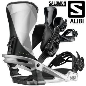 17-18 SALOMON / サロモン ALIBI アリバイ メンズ レディース ビンディング バインディング スノーボード 2018 型落ち