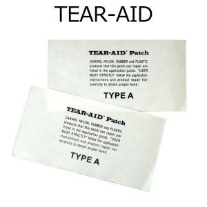 即出荷 TEAR-AID / ティアエイド TYPE-A 2枚セット リペア用品 サーフィン メール便対応|breakout