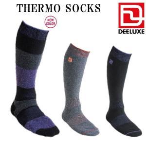 DEELUXE / ディーラックス THERMO SOCKS ソックス レディース メンズ スノーボード