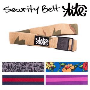 TITE / タイト SECURITY BELT セキュリティ ベルト 伸縮 パンツ アパレル スノーボード メール便対応 breakout