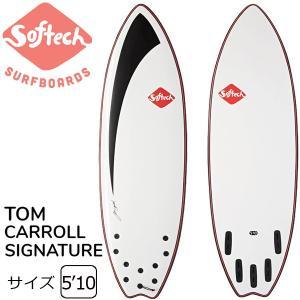 """SOFTECH TOM CAROLL 5'10"""" ソフテック サーフボード ショートボード ソフトボ..."""
