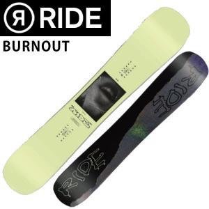 19-20 RIDE/ライド BURNOUT バーンアウト メンズ 板 スノーボード 予約商品 2020|breakout