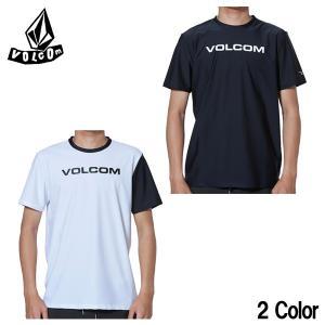 即出荷  VOLCOM RASHGUARD Apac Euro Corpo S/S N01119G1 ボルコム ラッシュガード 夏用 半袖 メンズ サーフィン メール便対応|BREAKOUT