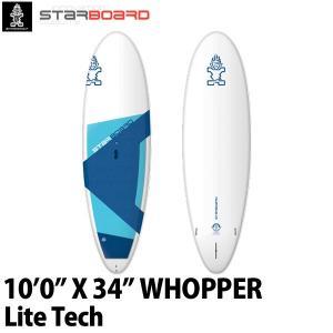 取り寄せ商品 2019 STARBOARD SUP 10'0X34 WHOPPER LITE TECH スターボード ワッパー サップ スタンドアップパドルボード 営業所止め|breakout