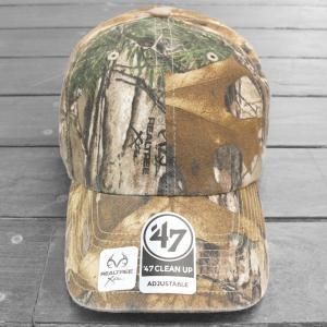 海外限定 '47 ブランド クリーン アップ キャップ リアルツリー 無地/ '47 BRAND CLEAN UP CAP [REALTREE CAMO]|breaks-general-store