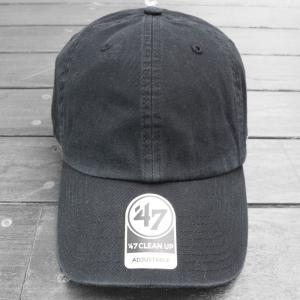 海外限定 '47 ブランド ブランク クリーン アップ キャップ 無地 ブラック / '47 BRAND BLANK CLEAN UP CAP [BLACK]|breaks-general-store