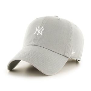 '47 ブランド ニューヨーク ヤンキース ミニロゴ クリーン アップ キャップ グレー 帽子 / '47 BRAND NEW YORK YANKEES MINI LOGO CLEAN UP CAP [GRAY]|breaks-general-store