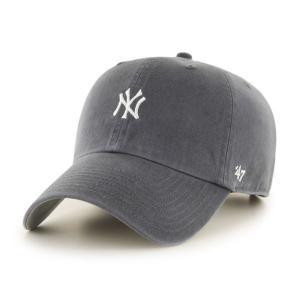 '47 ブランド ニューヨーク ヤンキース ミニ ロゴ クリーン アップ キャップ チャコール 帽子 / '47 BRAND NEW YORK YANKEES MINI LOGO CLEAN UP CAP [CHARCOAL]|breaks-general-store