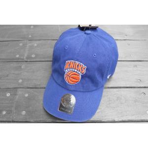 '47 ブランド ニューヨーク ニックス クリーン アップ キャップ ブルー 帽子 / '47 BRAND NEW YORK KNICKS CLEAN UP CAP [BLUE] breaks-general-store