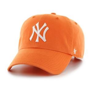'47 ブランド ニューヨーク ヤンキース クリーン アップ キャップ マンゴー オレンジ / '47 BRAND NEW YORK YANKEES CLEAN UP CAP [MANGO]|breaks-general-store