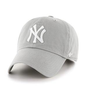 '47 ブランド ニューヨーク ヤンキース クリーン アップ キャップ グレー / '47 BRAND NEW YORK YANKEES CLEAN UP CAP [GREY]|breaks-general-store