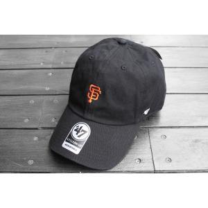 '47 ブランド MLB サンフランシスコ ジャイアンツ ミニ ロゴ クリーン アップ キャップ 帽子 / '47 BRAND MLB SAN FRANCISCO GIANTS MINI LOGO CLEAN UP CAP|breaks-general-store