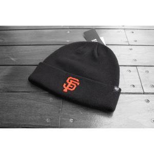 '47ブランド サンフランシスコ ジャイアンツ カフ ニット ビーニー ニット帽 ニットキャップ / '47 BRAND MLB SAN FRANCISCO GIANTS CUFF KNIT BEANIE|breaks-general-store