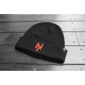 '47ブランド ニューヨーク メッツ カフ ニット ビーニー ニット帽 ニットキャップ / '47 BRAND MLB NEW YORK METS CUFF KNIT BEANIE|breaks-general-store