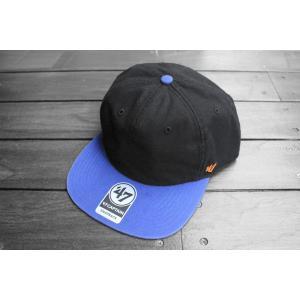 '47ブランド ニューヨーク メッツ ダブル バッカー スナップバック キャップ 帽子 / '47 BRAND MLB NEW YORK METS DOUBLE BACKER SNAPBACK CAP|breaks-general-store