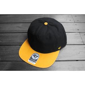 '47ブランド ピッツバーグ パイレーツ ダブル バッカー スナップバック キャップ 帽子 / '47 BRAND MLB PITTSBURGH PIRATES DOUBLE BACKER SNAPBACK CAP|breaks-general-store