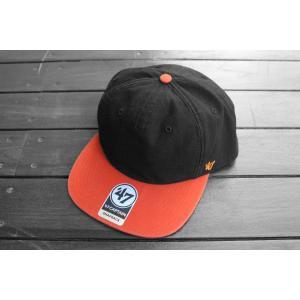 '47ブランド サンフランシスコ ジャイアンツ ダブル バッカー スナップバック キャップ 帽子 / '47 BRAND MLB SAN FRANCISCO GIANTS DOUBLE BACKER SNAPBACK CAP|breaks-general-store