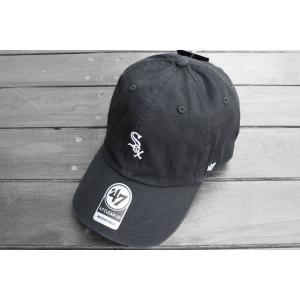 '47 ブランド シカゴ ホワイトソックス ミニ ロゴ クリーン アップ キャップ 帽子 / '47 BRAND CHICAGO WHITE SOX MINI LOGO CLEAN UP CAP|breaks-general-store