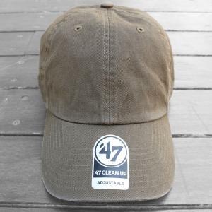 海外限定 '47 ブランド ブランク クリーン アップ キャップ 無地 オリーブ / '47 BRAND BLANK CLEAN UP CAP [OLIVE]|breaks-general-store